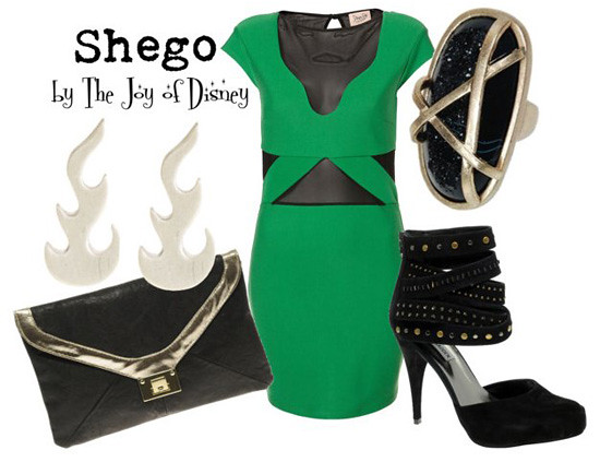Inspired by: Shego -- Kim Possible