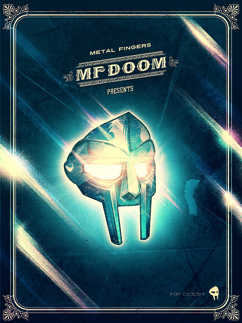 MF DOOM playin around