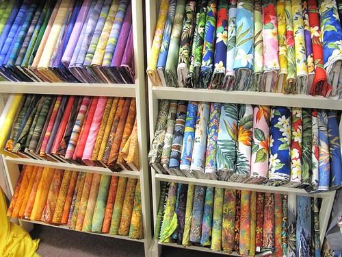Vicky's fabric store, Kapa'a, Kauai