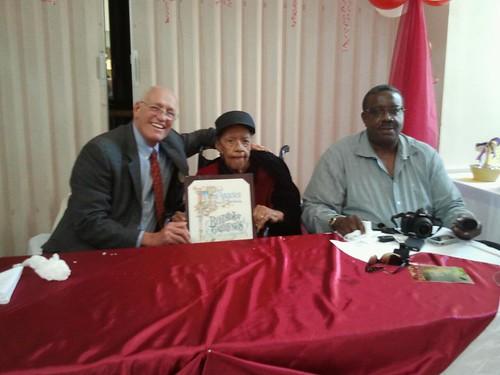 Happy 102nd birthday to Venice treasure Lillian Thompson!