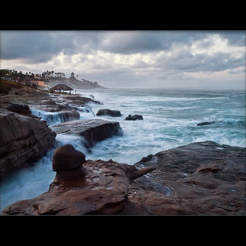 ocean seascape beach sunrise dawn coast waves sandiego lajolla olympuse30 winadsea