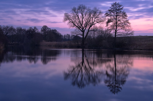 longexposure sea reflection nature colors germany landscape deutschland see evening abend spring europe brandenburg hönow dietrichbojko schmalersee