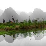 Fishing around the Perfume Pagoda