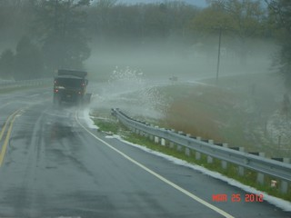NCDOT Responds to Rowan County Hail Storm