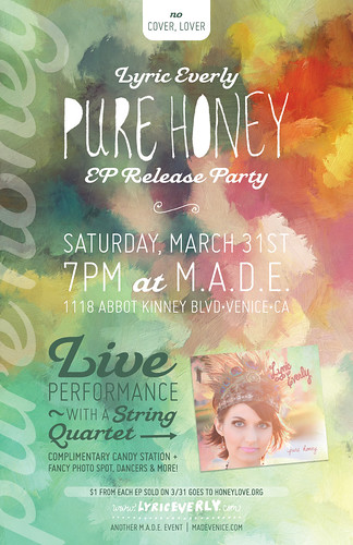 Lyric Everly: Pure Honey EP Release Party