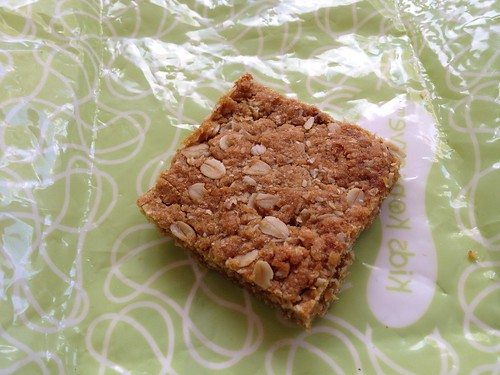 Lunch Box Ideas - oat slice