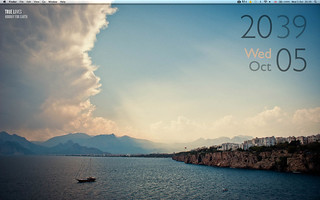October '11 Geektool Desktop