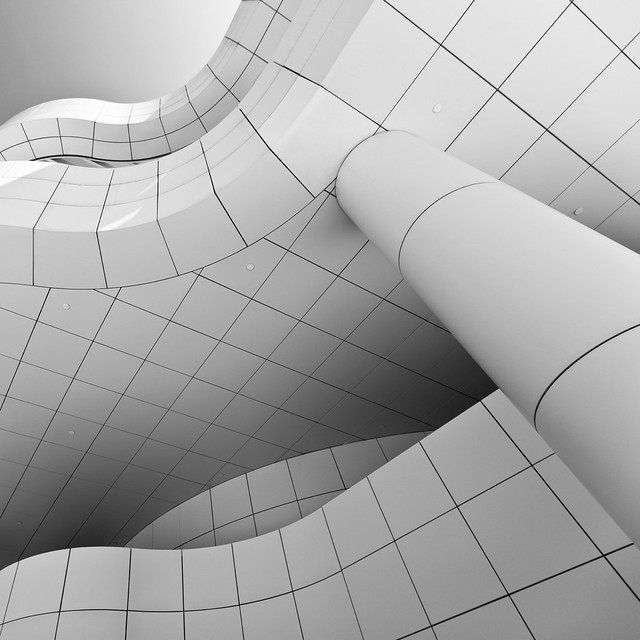 Getty Center Abstraction with wide angle