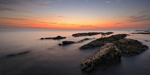 del sunrise nikon riviera alba ancona d700
