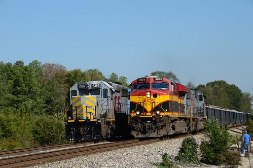 Rock Train overtaking manifest
