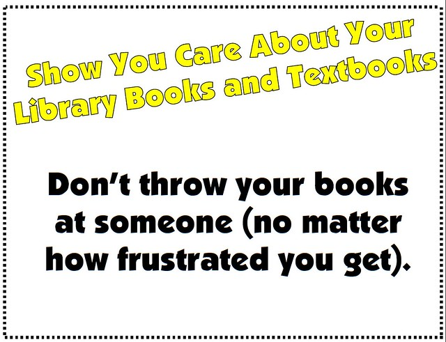 Don't Throw Your Books
