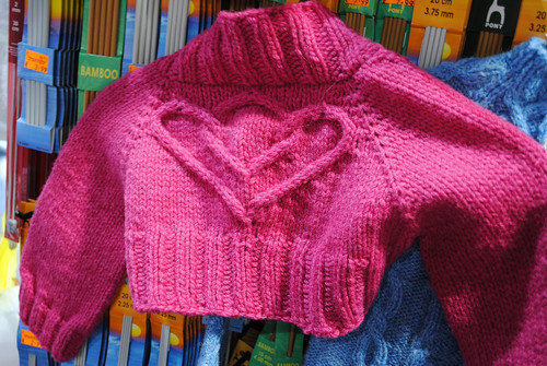 Listowel Girl's Heart Shrug