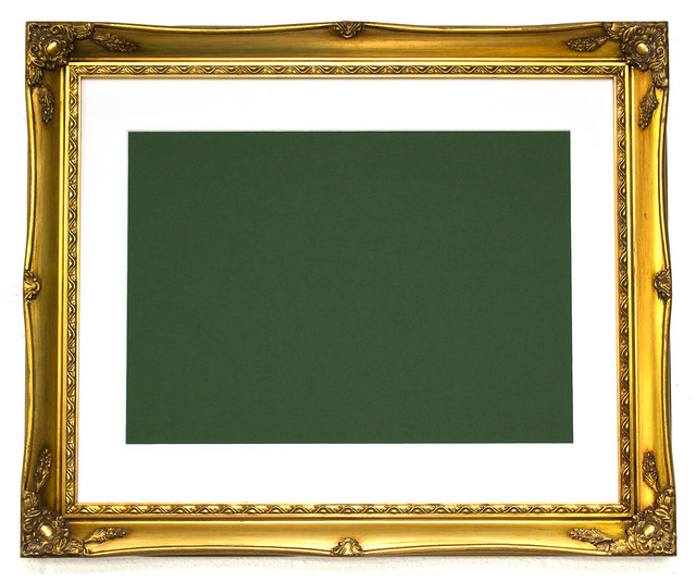 Free brushed gold frame template | Flickr - Photo Sharing!