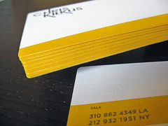 Chris Kilkus Letterpress Note Cards