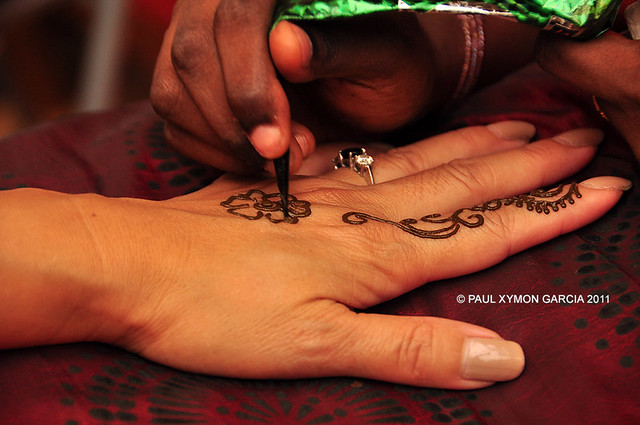 Henna Tattoo at Little India, Singapore