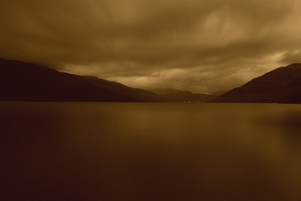 Loch Lomond in Sepia