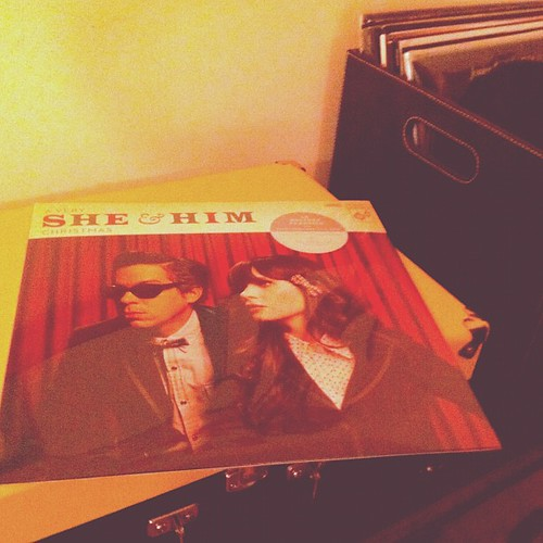 Look what came in the mail today!!! Yay :) #sheandhim #christmasalbum