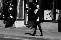 streets of Toronto - b&w