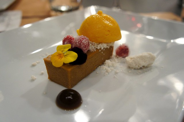 ... Goat Cheese Cheesecake - yam ice cream, candied cranberries | Flickr