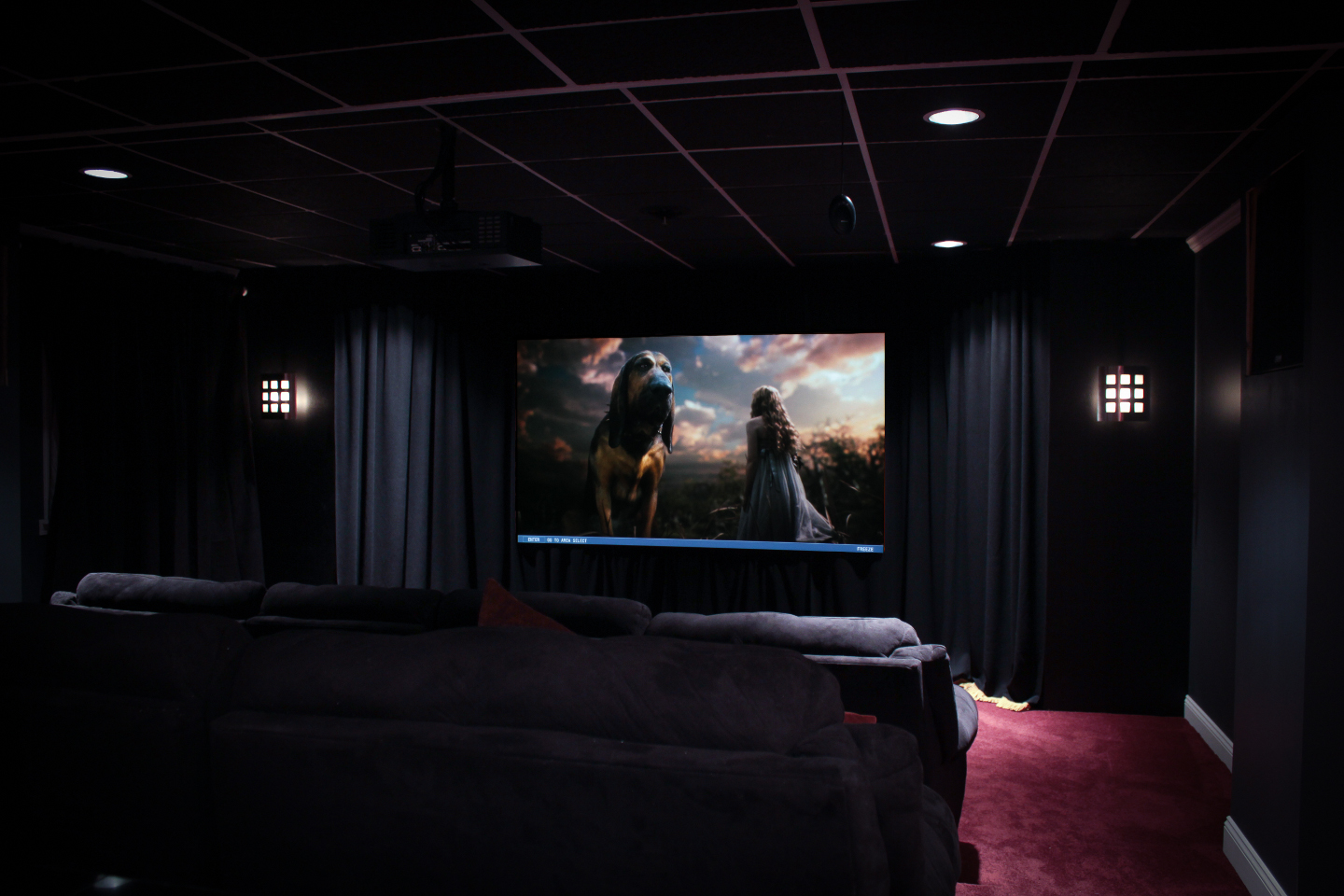 Theater Room Equipment Wiring Layout Ideas