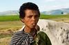 Tattoo amhara woman. North Ethiopia