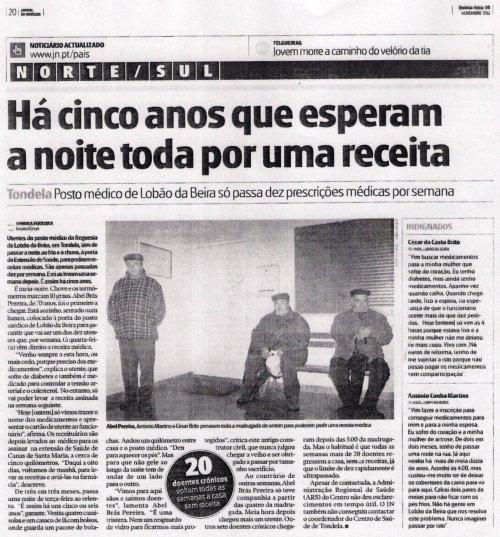 JORNAL DE NOTÍCIAS 10-11-2011