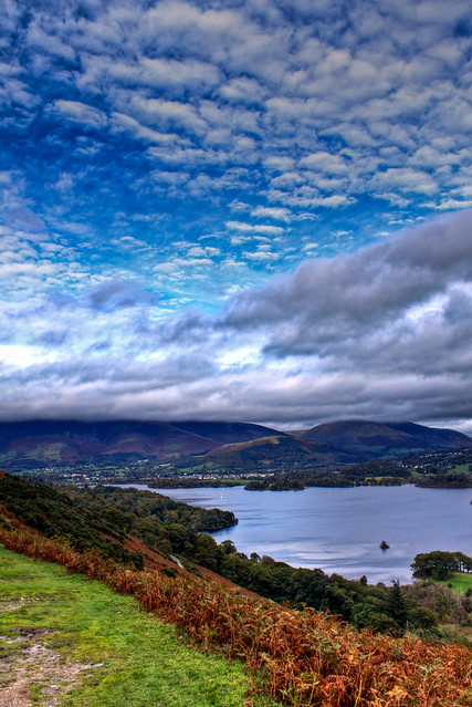 0251 - England, Lake District, Derwent Water HDR