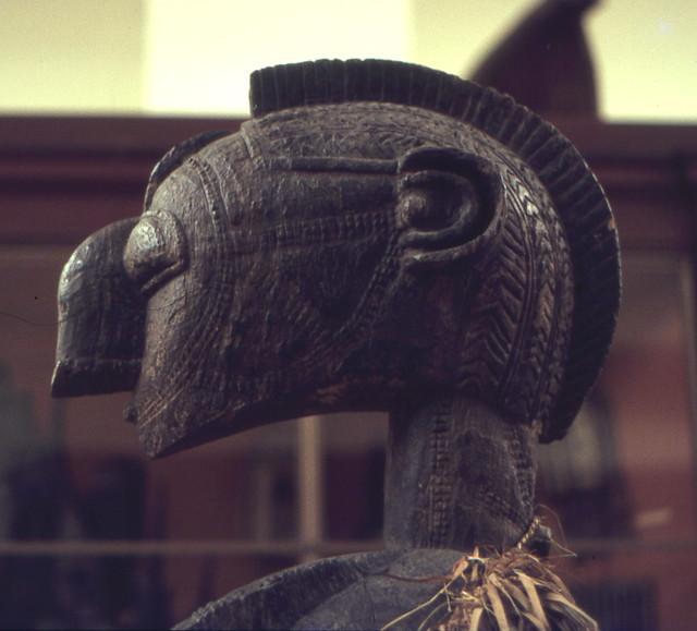 Close-up of Nimba mask, Baga people, Republic of Guinea, West Africa