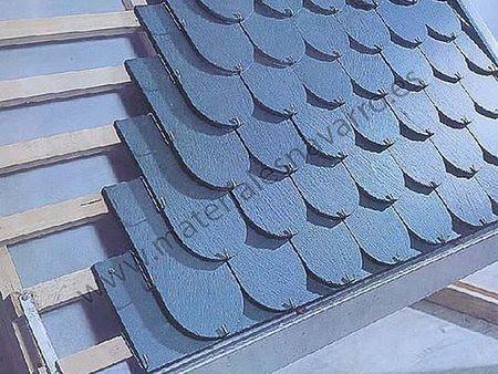 Tejas de pizarra proteje los techos de climas severos for Cubiertas para techos livianas