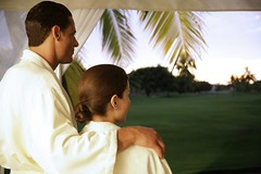 Pareja en el Spa en Casa Velas / Couple ...
