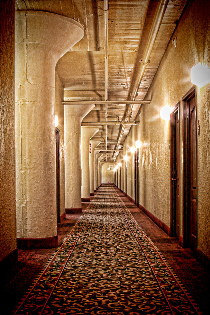 Hallway at The Suites Hotel, Duluth, MN