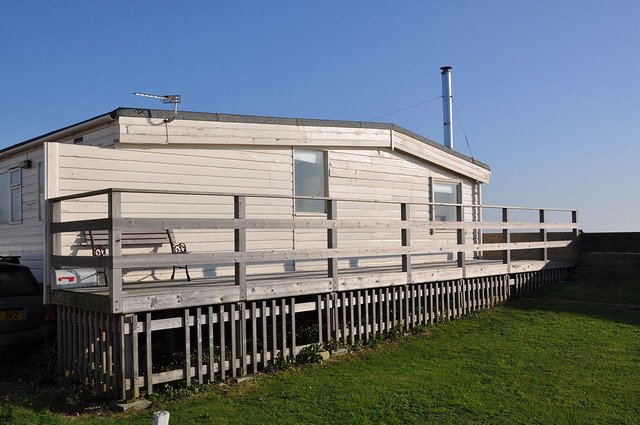 Selsey train carriage house