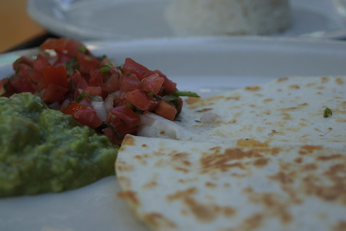 Quesadilla from Hollywood Farmers Market