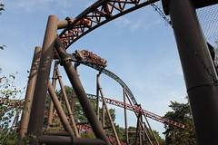 Alton Towers roller coaster