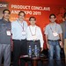 Sharad with Vivek Paul, Vijay Doddavaram, Sumeet Anand & Gautam Ghosh #nasscompc by Avinash.Raghava