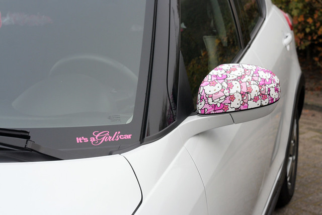It's a girls car!!