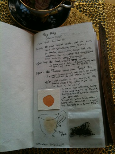 Tea Journal Page 1