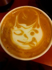Devil in Josh's coffee