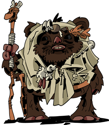 Paploo the Ewok