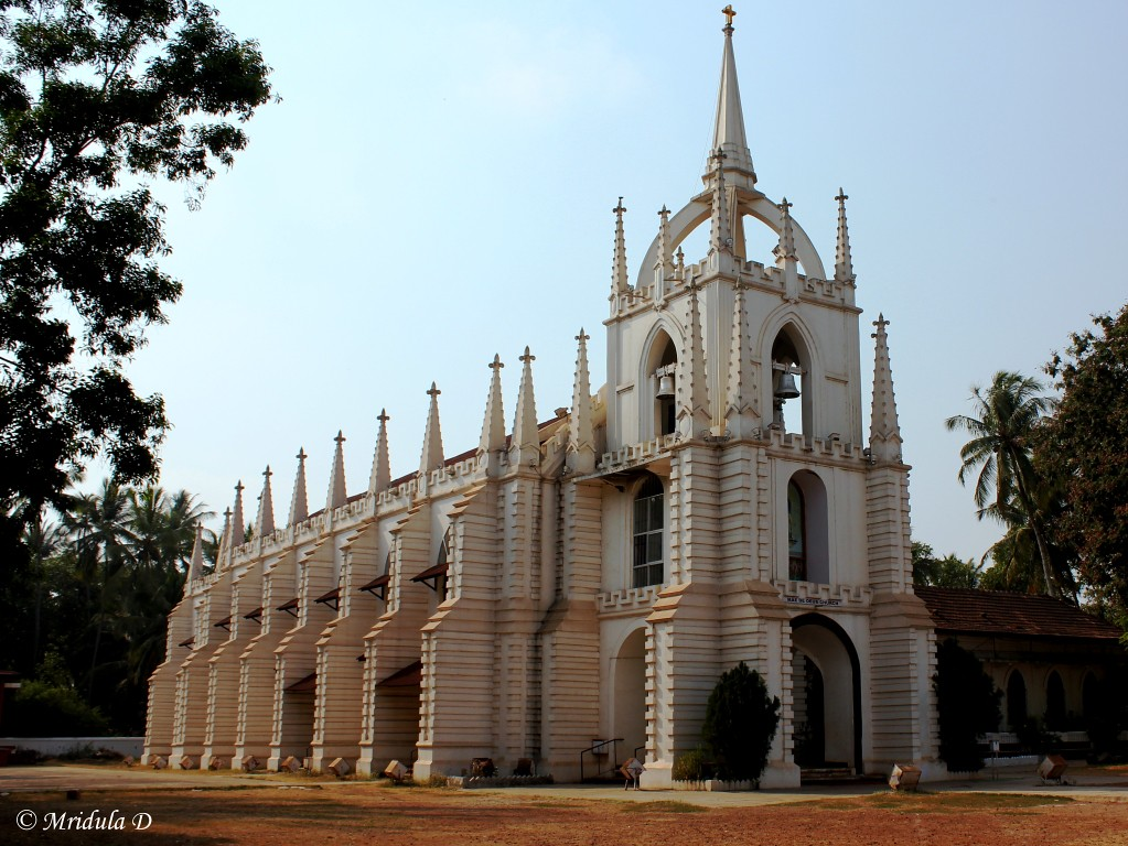 Mae De Deus Church, Saligao, Goa, India