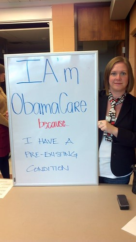 Photos from the field—I like Obamacare