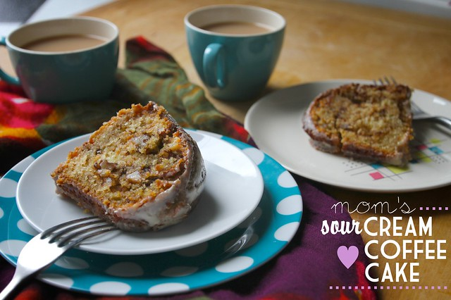 mom's sour cream coffee cake | Flickr - Photo Sharing!