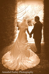 Vintage wedding glamour