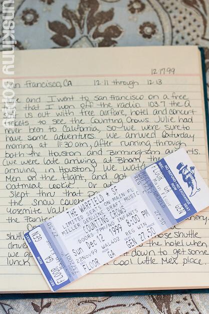 travel diary