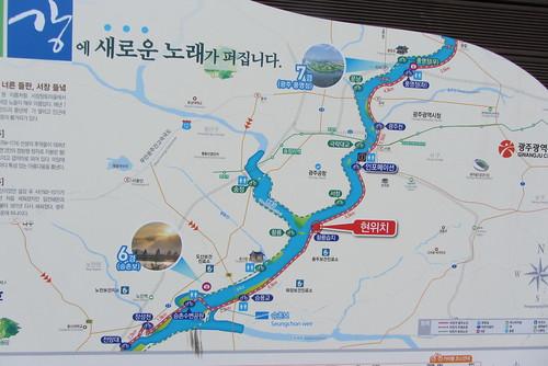 Yeongsan Cycle Path Map