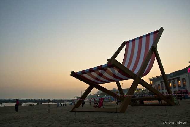 The Worlds Largest Deck Chair