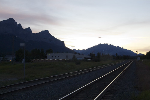 Sunset, Canmore, Alberta, Canada