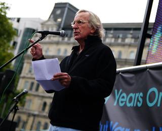 STOP THE WAR COALITION RALLY TRAFALGAR SQUARE.08.10.2011