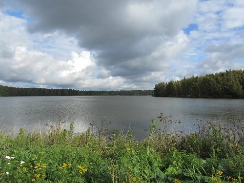 city autumn sea sky sun west beach clouds canon suomi finland landscape view western scandinavia vaasa sx210is
