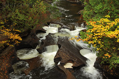 The Kettles on Presque Isle River